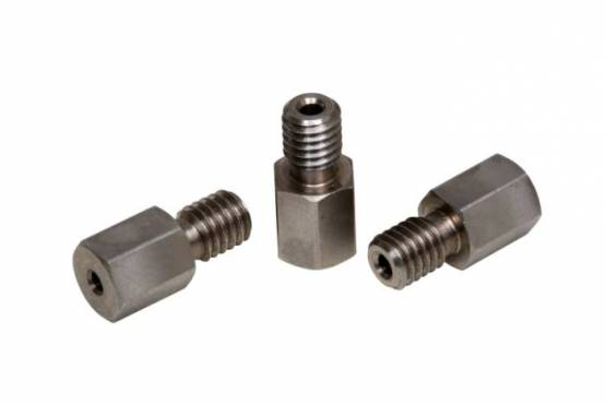 "SS Nut 1/16"", 10-32 threads"