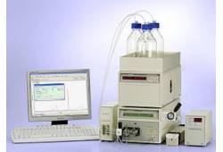 Gradient analytical system with detector Sapphire
